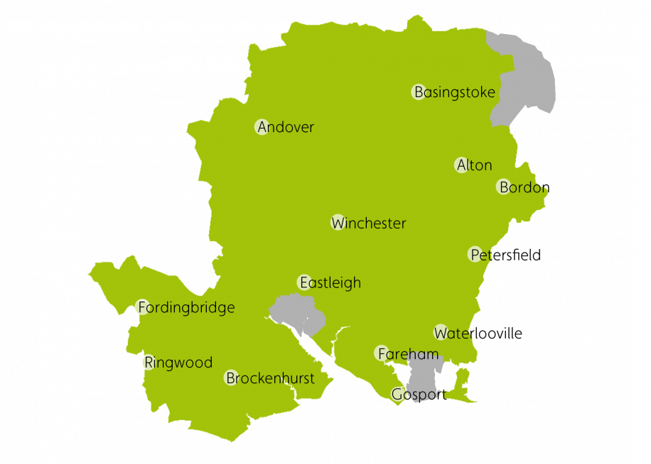 Map Labelled