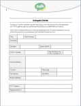 Delegate Details Form GDPR update 2018